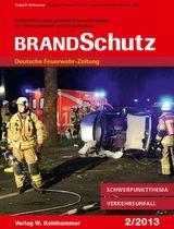 BRANDSchutz | 73. Jahrgang, 2013 (Cover)