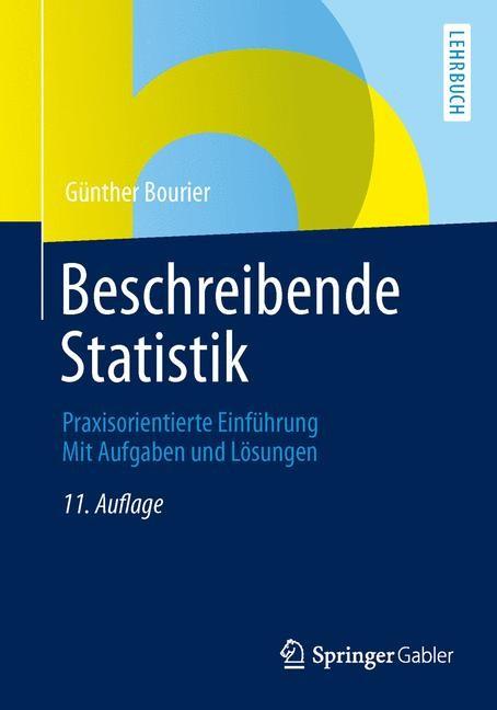 Abbildung von Bourier | Beschreibende Statistik | 11., aktualisierte Auflage | 2013