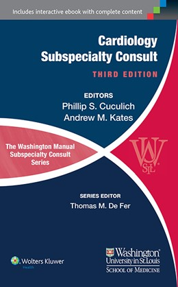 Abbildung von Cuculich / Kates | The Washington Manual of Cardiology Subspecialty Consult | 2014