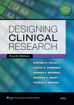 Abbildung von Hulley / Cummings / Browner   Designing Clinical Research   2013