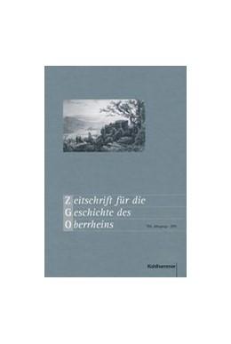 Abbildung von Zeitschrift für die Geschichte des Oberrheins | 168. Jahrgang | 2020 | Herausgegeben von der Kommissi...
