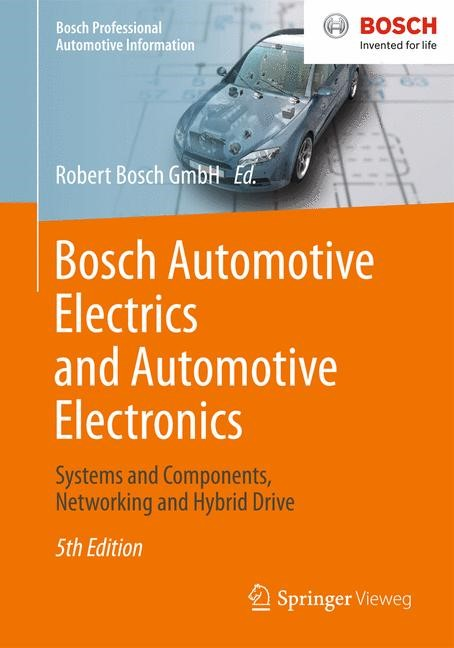 Bosch Automotive Electrics and Automotive Electronics, 2013 | Buch (Cover)