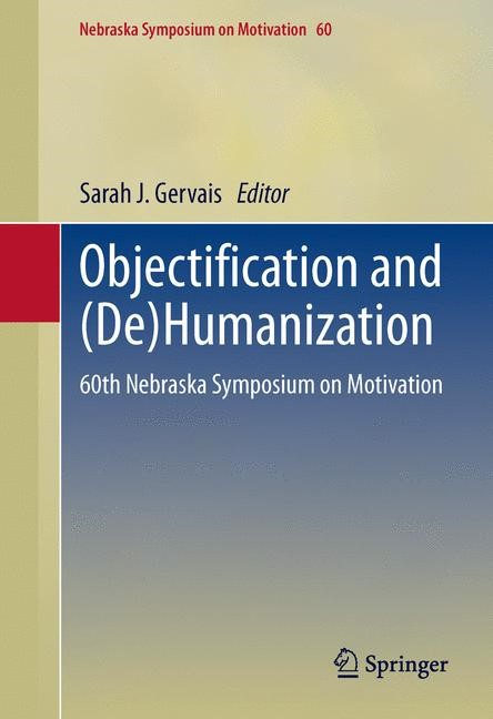 Abbildung von Gervais | Objectification and (De)Humanization | 2013