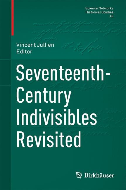 Seventeenth-Century Indivisibles Revisited | Jullien, 2015 | Buch (Cover)