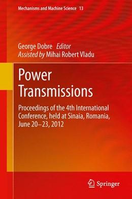 Abbildung von Dobre | Power Transmissions | 1. Auflage | 2013 | 13 | beck-shop.de