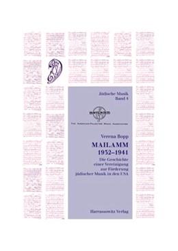 Abbildung von Bopp | Mailamm 1932-1941 | 2007 | Die Geschichte einer Vereinigu... | 4