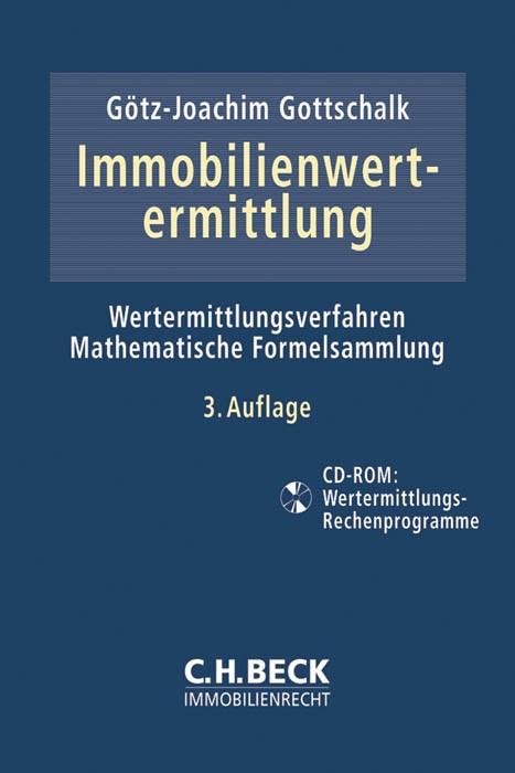 Immobilienwertermittlung | Gottschalk | 3. Auflage, 2014 (Cover)