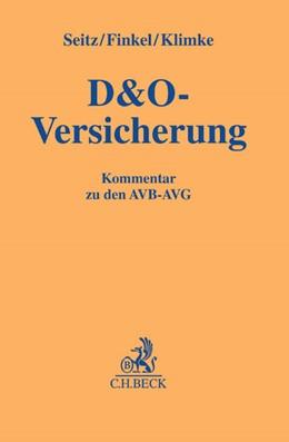 Abbildung von Seitz / Finkel   D&O-Versicherung   1. Auflage   2016   beck-shop.de
