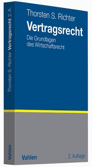 Vertragsrecht | Richter | 2., aktualisierte Auflage, 2013 | Buch (Cover)