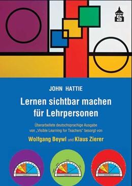 Abbildung von Hattie | Lernen sichtbar machen für Lehrpersonen | 4. unveränd. Aufl. | 2019 | Überarbeitete deutschsprachige...