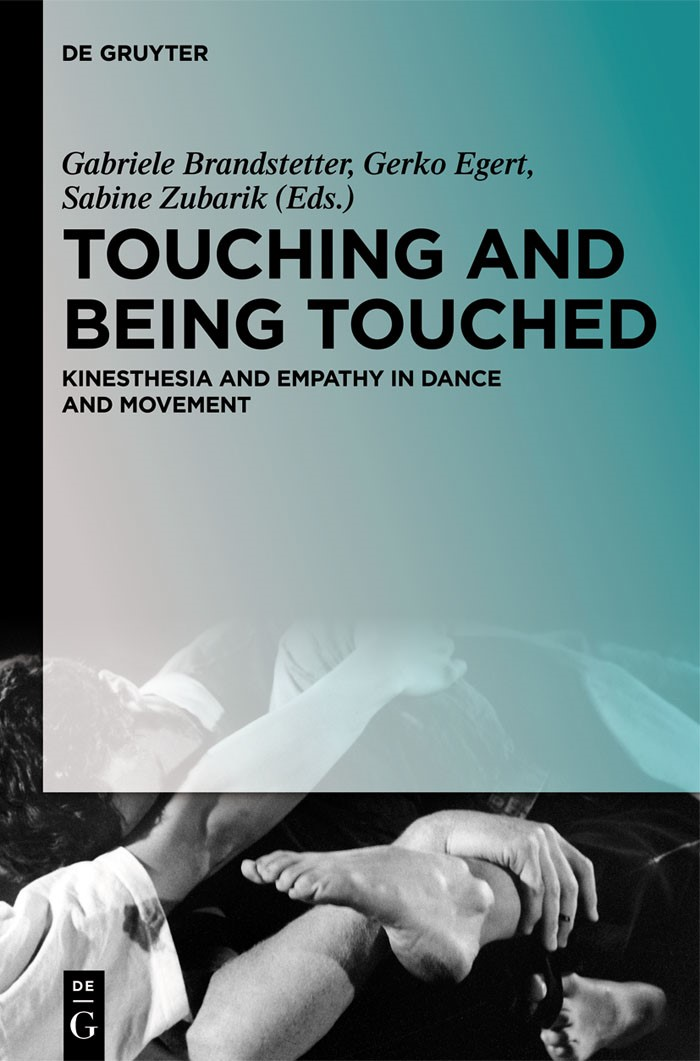 Touching and Being Touched | Brandstetter / Egert / Zubarik, 2013 | Buch (Cover)
