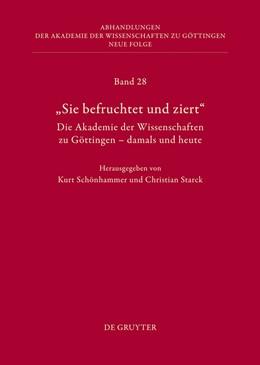 Abbildung von Schönhammer / Starck   Die Geschichte der Akademie der Wissenschaften. Teil 1   2013   Teil 1