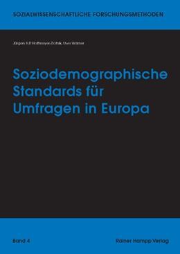 Abbildung von Hoffmeyer-Zlotnik / Warner | Soziodemographische Standards für Umfragen in Europa | 2013 | 6