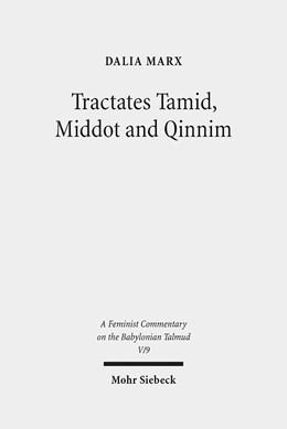 Abbildung von Marx | Tractates Tamid, Middot and Qinnim | 2013 | A Feminist Commentary | V/9