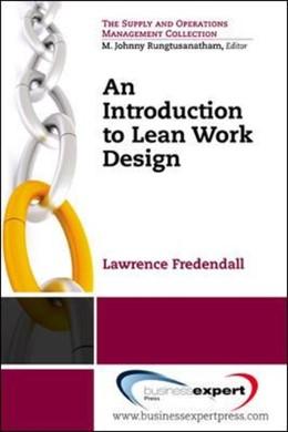 Abbildung von Fredendall | An Introduction to Lean Work Design | 2015