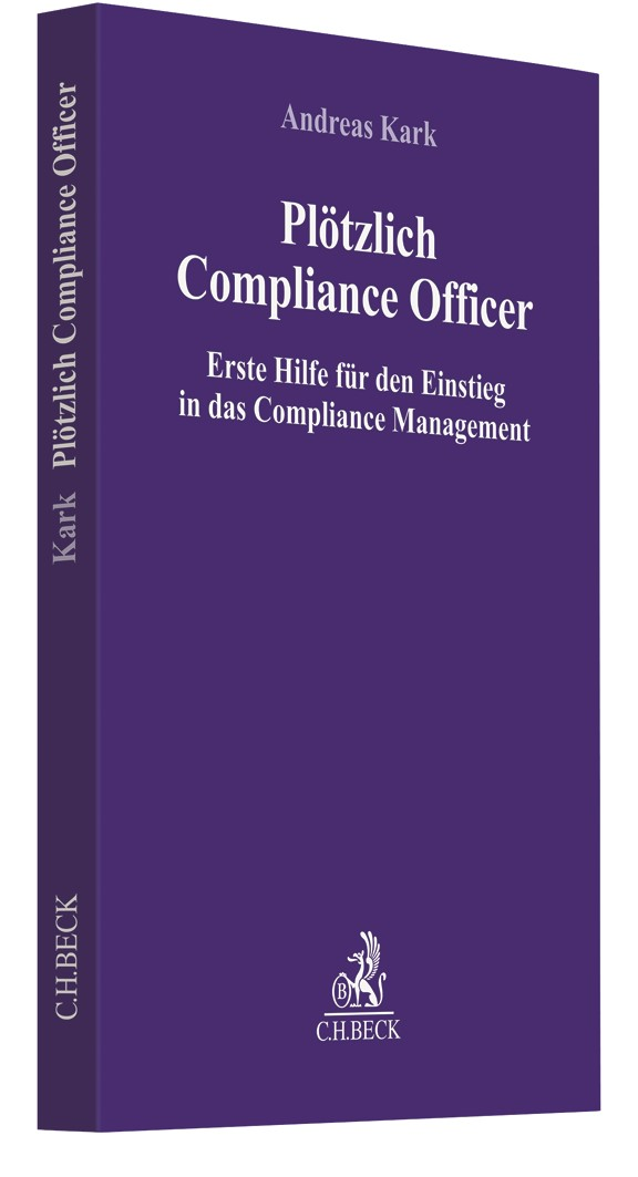 Plötzlich Compliance Officer | Krumbach, 2019 | Buch (Cover)