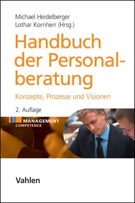Handbuch der Personalberatung | Heidelberger / Kornherr | 2., vollständig überarbeitete Auflage, 2014 | Buch (Cover)
