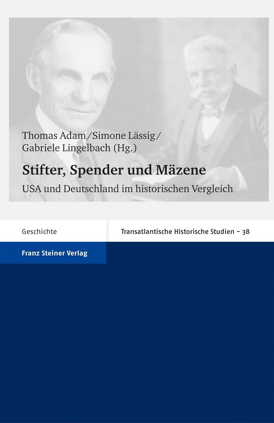 Stifter, Spender und Mäzene | Adam / Lässig / Lingelbach, 2009 | Buch (Cover)