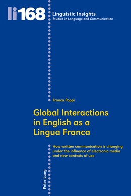 Abbildung von Poppi | Global Interactions in English as a Lingua Franca | 2013 | How written communication is c... | 168