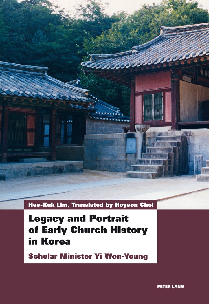 Legacy and Portrait of Early Church History in Korea | Lim, 2013 | Buch (Cover)