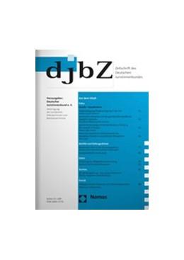 Abbildung von djbZ   23. Jahrgang   2020   Zeitschrift des Deutschen Juri...