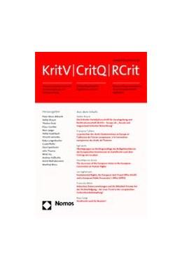 Abbildung von KritV | CritQ | RCrit | 101. Auflage | 2021 | beck-shop.de