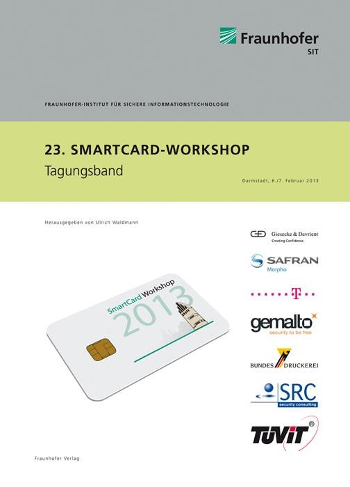 23. SmartCard Workshop | / Waldmann, 2013 | Buch (Cover)