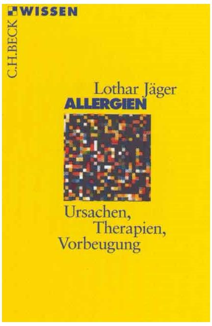 Cover: Lothar Jäger, Allergien