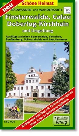 Abbildung von Radwander- und Wanderkarte Finsterwalde, Calau, Doberlug-Kirchhain und Umgebung 1:50 000 | Neuauflage, Laufzeit bis 2020 | 2013 | Ausflüge zwischen Sonnewalde, ...