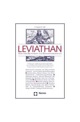 Abbildung von Leviathan | 47. Jahrgang | 2019 | Berliner Zeitschrift für Sozia...