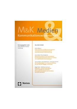 Abbildung von Medien & Kommunikationswissenschaft • M&K | 68. Jahrgang | 2020