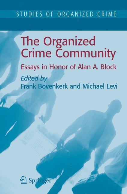 The Organized Crime Community   Bovenkerk / Levi, 2006   Buch (Cover)