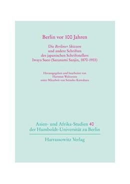 Abbildung von Walravens   Berlin vor 100 Jahren   1. Auflage   2013   beck-shop.de