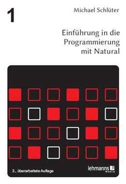 Abbildung von Schlüter / Belli / Bonin | Einführung in die Programmierung mit Natural | 2. Auflage | 2013