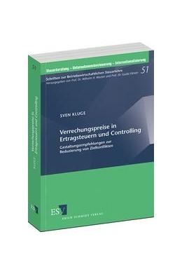 Abbildung von Kluge   Verrechnungspreise in Ertragsteuern und Controlling   1. Auflage 2013   2013   Gestaltungsempfehlungen zur Re...   51
