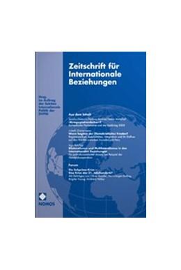 Abbildung von Zeitschrift für Internationale Beziehungen - ZIB   27. Jahrgang   2020