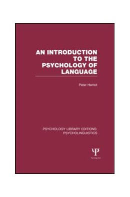 Abbildung von Herriot | An Introduction to the Psychology of Language (PLE: Psycholinguistics) | 1. Auflage | 2013 | beck-shop.de