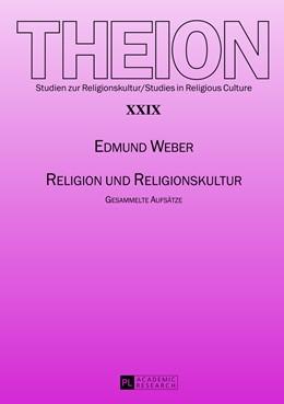 Abbildung von Weber | Religion und Religionskultur | 2013 | Gesammelte Aufsätze | 29