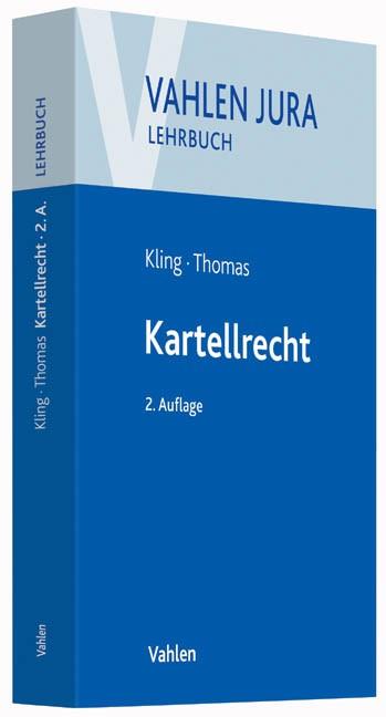 Kartellrecht | Kling / Thomas | 2., neu bearbeitete Auflage, 2015 | Buch (Cover)