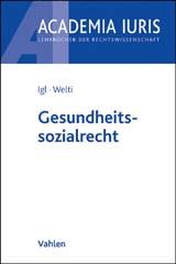 Gesundheitssozialrecht • Erscheint nicht | Igl / Welti, 2014 | Buch (Cover)