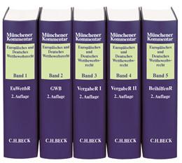 Abbildung von Münchener Kommentar Europäisches und Deutsches Wettbewerbsrecht | 2. Auflage | Gesamtwerk in 5 Bänden