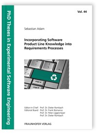 Abbildung von / Rombach / Liggesmeyer / Bomarius | Incorporating Software Product Line Knowledge into Requirements Processes. | 2013