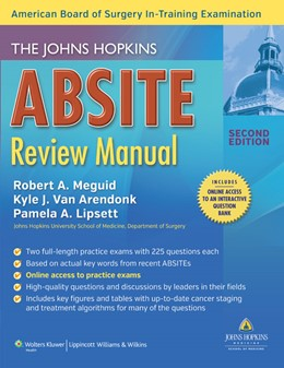 Abbildung von Meguid / Van Arendonk / Lipsett | The Johns Hopkins ABSITE Review Manual | 2013