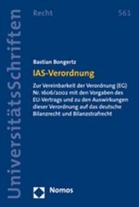 Abbildung von Bongertz | IAS-Verordnung | 2008