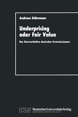 Abbildung von Döhrmann | Underpricing oder Fair Value | 1990 | Das Kursverhalten deutscher Er... | 4