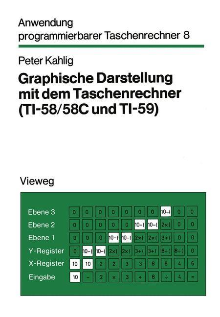Graphische Darstellung mit dem Taschenrechner   Kahlig, 1981   Buch (Cover)