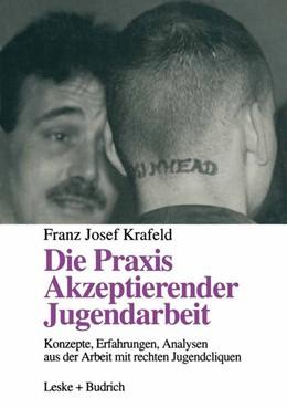 Abbildung von Die Praxis Akzeptierender Jugendarbeit | 2012 | Konzepte — Erfahrungen — Analy...