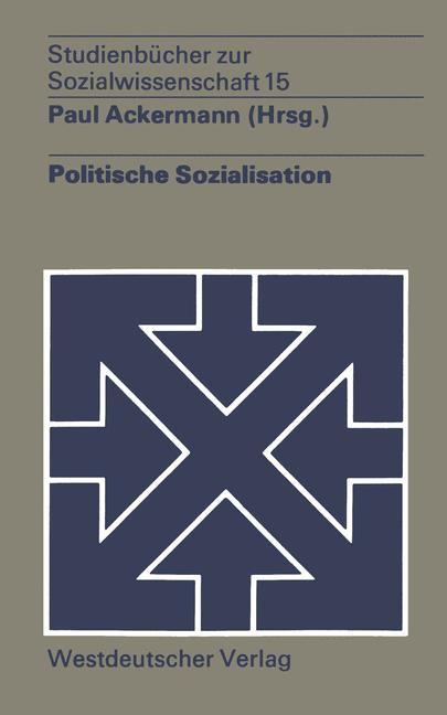 Politische Sozialisation | Ackermann, 1974 | Buch (Cover)