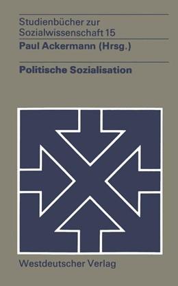Abbildung von Ackermann | Politische Sozialisation | 1974 | 15