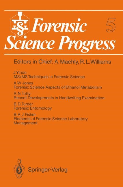 Forensic Science Progress, 2012 | Buch (Cover)